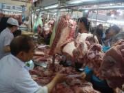 Thị trường - Tiêu dùng - Giá thịt heo, gà, vịt...lại 'rủ nhau' giảm