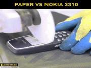 """Thời trang Hi-tech - Xem cưa giấy cho """"huyền thoại"""" Nokia 3310 """"ăn hành"""""""