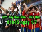 U21 Tây Ban Nha - U21 Đức: Chung kết trong mơ duyên nợ