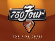 """Top 5 Honda CB750 độ Cafe Racer  """" đỉnh của đỉnh """""""