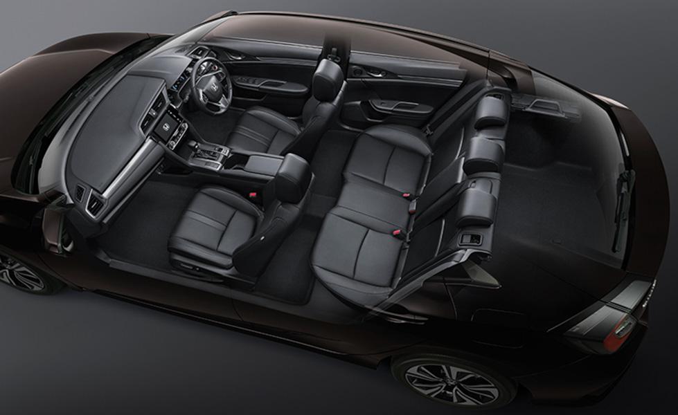 Honda Civic hatchback 5 cửa đỏ Rallye Red tuyệt đẹp có giá 773 triệu đồng - 12