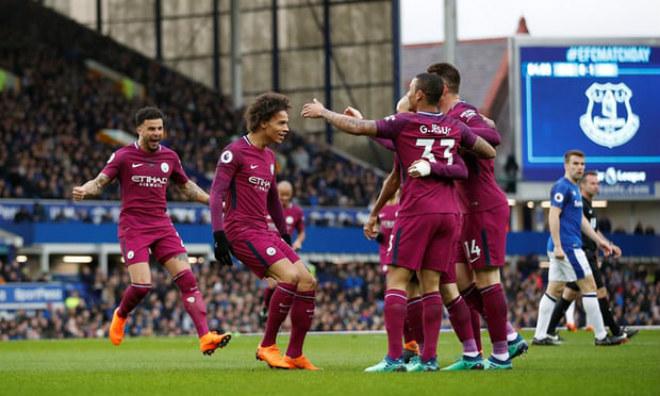 Everton - Man City: Tấn công vũ bão, đại tiệc 4 bàn - 1