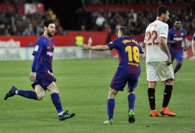 Sevilla - Barca: Tuyệt đỉnh Messi, cái kết không tưởng - 1