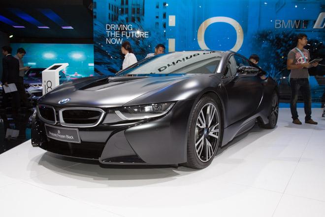 BMW ra mắt phiên bản giới hạn cho siêu xe Hybrid i8 - 1