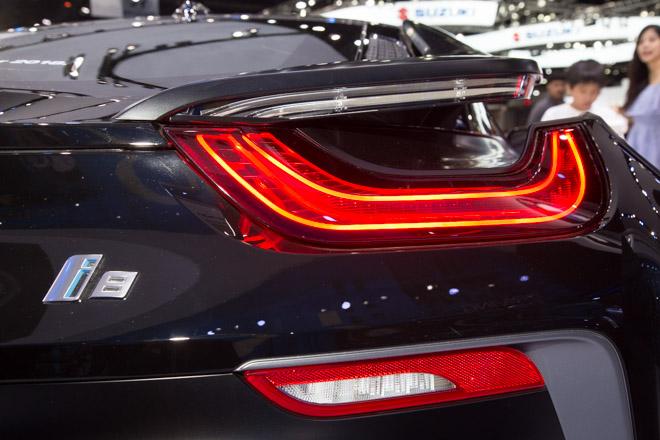 BMW ra mắt phiên bản giới hạn cho siêu xe Hybrid i8 - 8