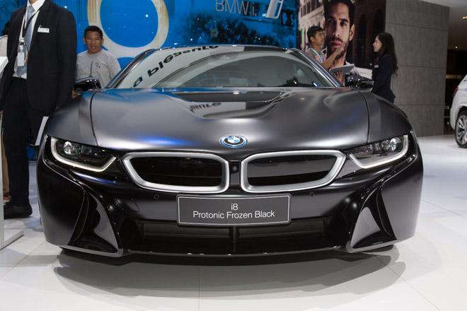 BMW ra mắt phiên bản giới hạn cho siêu xe Hybrid i8 - 4