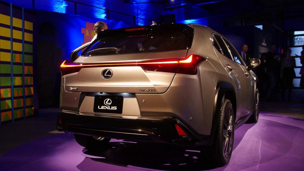 Lexus UX 2018 ra mắt tại Mỹ: Về Việt Nam không dưới 1,8 tỷ đồng - 5