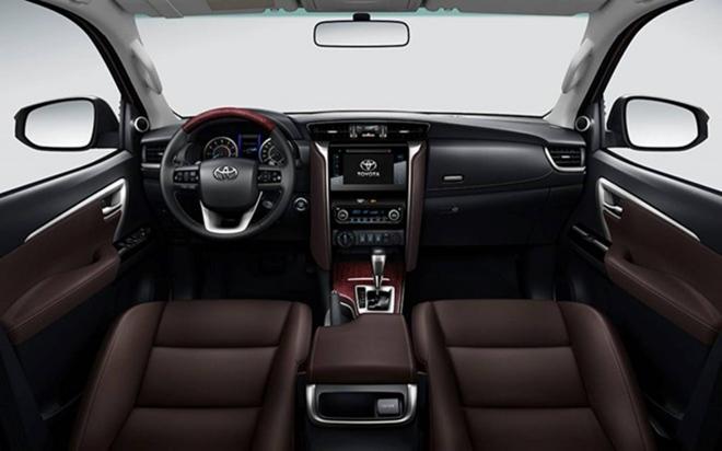 So sánh Toyota Fortuner và Honda CR-V - 8