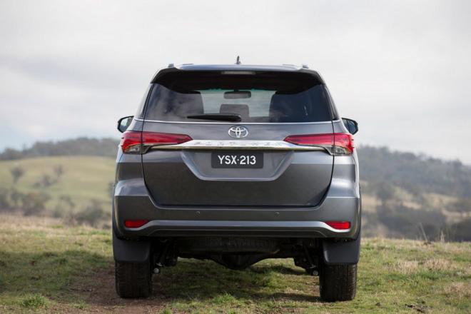 So sánh Toyota Fortuner và Honda CR-V - 6