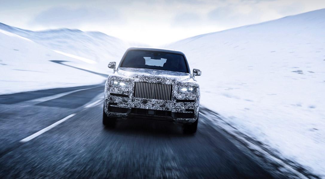 Rolls-Royce Cullinan bị thử thách khắc nghiệt trước ngày ra mắt - 2