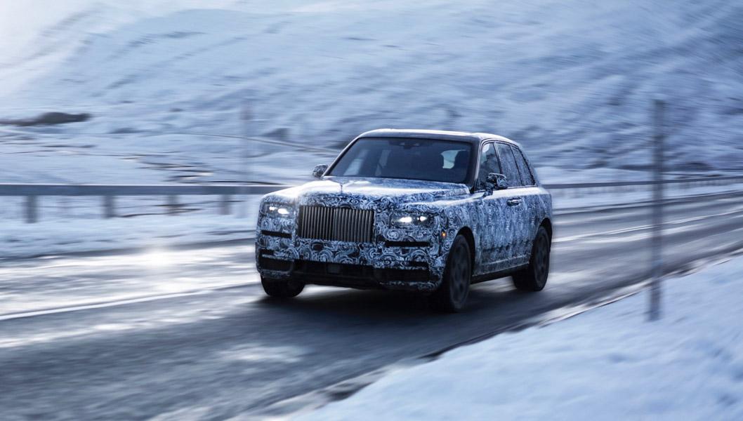 Rolls-Royce Cullinan bị thử thách khắc nghiệt trước ngày ra mắt - 1
