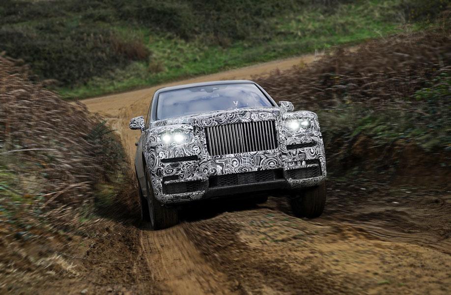 Rolls-Royce Cullinan bị thử thách khắc nghiệt trước ngày ra mắt - 3