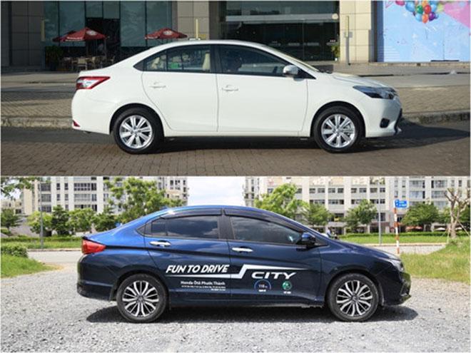 """So sánh """"kẻ thách thức"""" Honda City và """"thánh bán chạy"""" Toyota Vios - 7"""