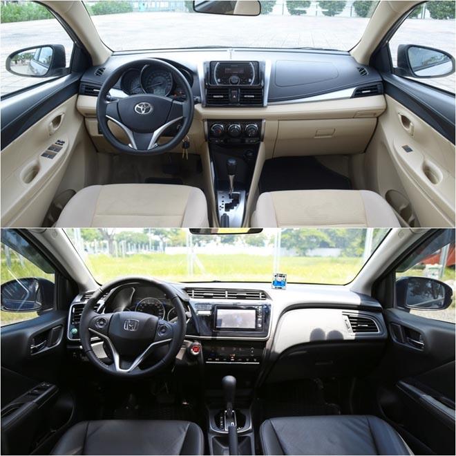 """So sánh """"kẻ thách thức"""" Honda City và """"thánh bán chạy"""" Toyota Vios - 6"""