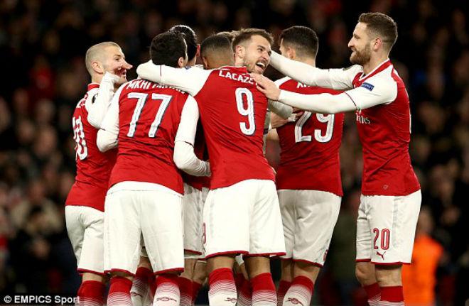 Arsenal - CSKA Moscow: Đại tiệc vinh danh hai sao sáng - 1