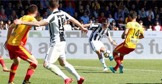 Benevento - Juventus: 2 siêu phẩm kèo trái và 2 phạt đền - 1