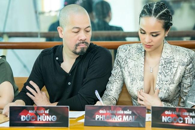 Phương Mai, Nhã Phương và loạt sao Việt lúng túng lấy tay che váy áo - 3
