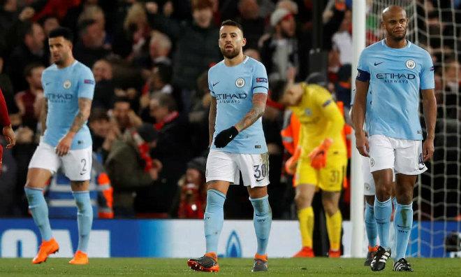 """Man City lĩnh 6 """"cái tát"""" từ MU, Liverpool: C1 quá tầm, mùa giải kết thúc - 2"""