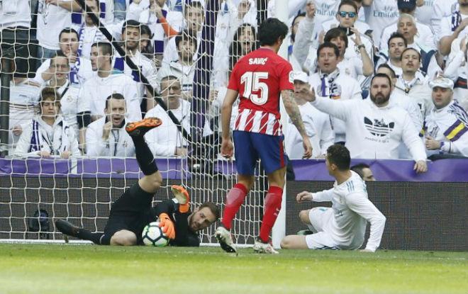 Real Madrid - Atletico Madrid: 2 siêu sao rực sáng, thót tim phút bù giờ - 1