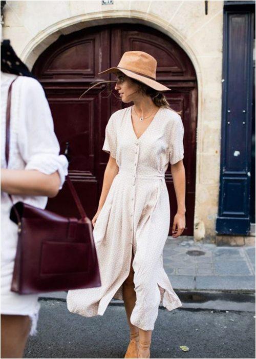 Váy quấn cổ điển: Lựa chọn nữ tính tuyệt vời cho hè - 5