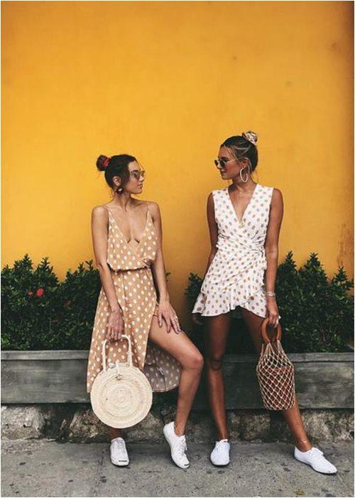Váy quấn cổ điển: Lựa chọn nữ tính tuyệt vời cho hè - 9