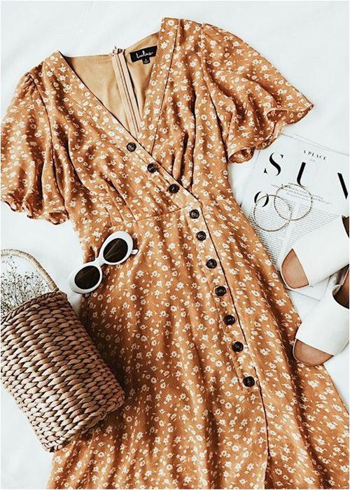 Váy quấn cổ điển: Lựa chọn nữ tính tuyệt vời cho hè - 13