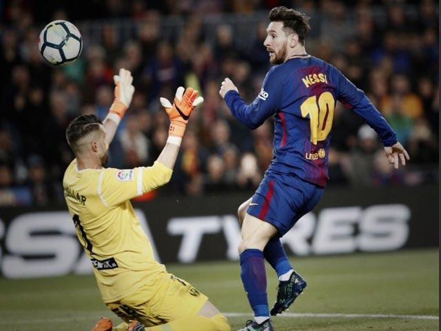 """Tiêu điểm vòng 31 La Liga: Messi """"gánh"""" Barca, Real bị """"xử ép"""" - 1"""