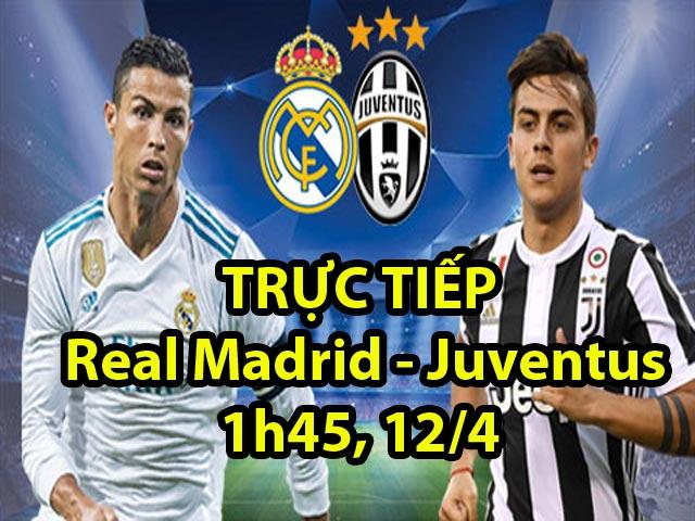 TRỰC TIẾP Real Madrid - Juventus: Ronaldo ghi bàn 11m (KT)