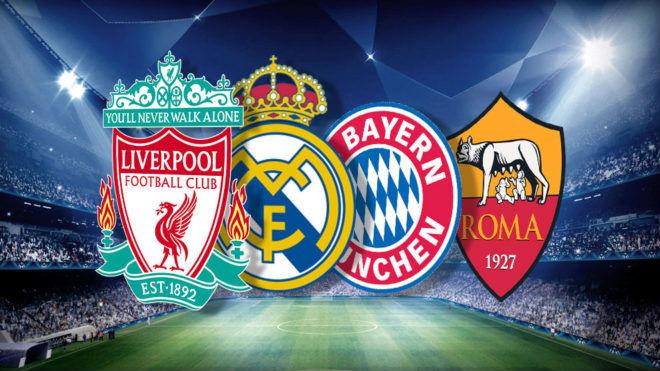 """Bốc thăm bán kết cúp C1: """"Vua"""" Ronaldo gầm thét dọa Bayern, Roma, Liverpool"""