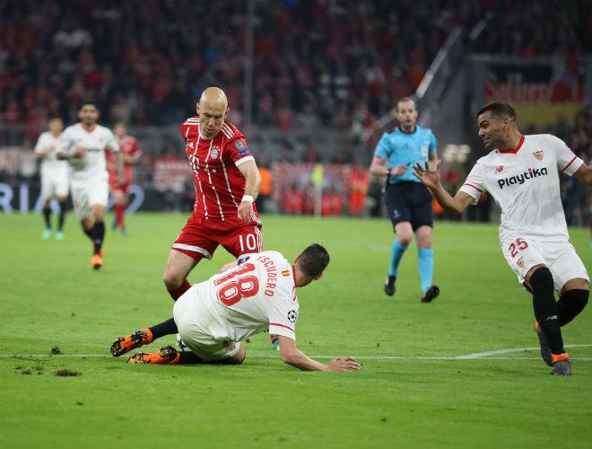 Bayern Munich - Sevilla: Tấn công điên cuồng, khung thành rung chuyển - 1