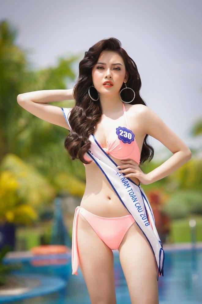 Tình cũ 3 năm của Lê Hiếu: Cô gái đẹp nổi bật ở Hoa hậu Biển Việt Nam toàn cầu - 1