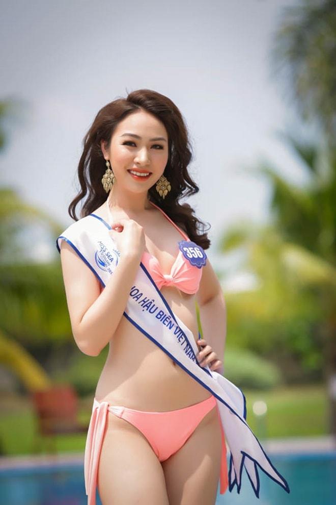 Tình cũ 3 năm của Lê Hiếu: Cô gái đẹp nổi bật ở Hoa hậu Biển Việt Nam toàn cầu