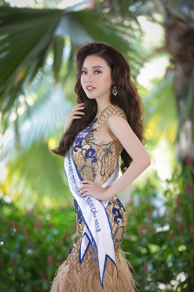 Tình cũ 3 năm của Lê Hiếu: Cô gái đẹp nổi bật ở Hoa hậu Biển Việt Nam toàn cầu - 2