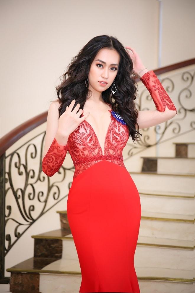 Tình cũ 3 năm của Lê Hiếu: Cô gái đẹp nổi bật ở Hoa hậu Biển Việt Nam toàn cầu - 6