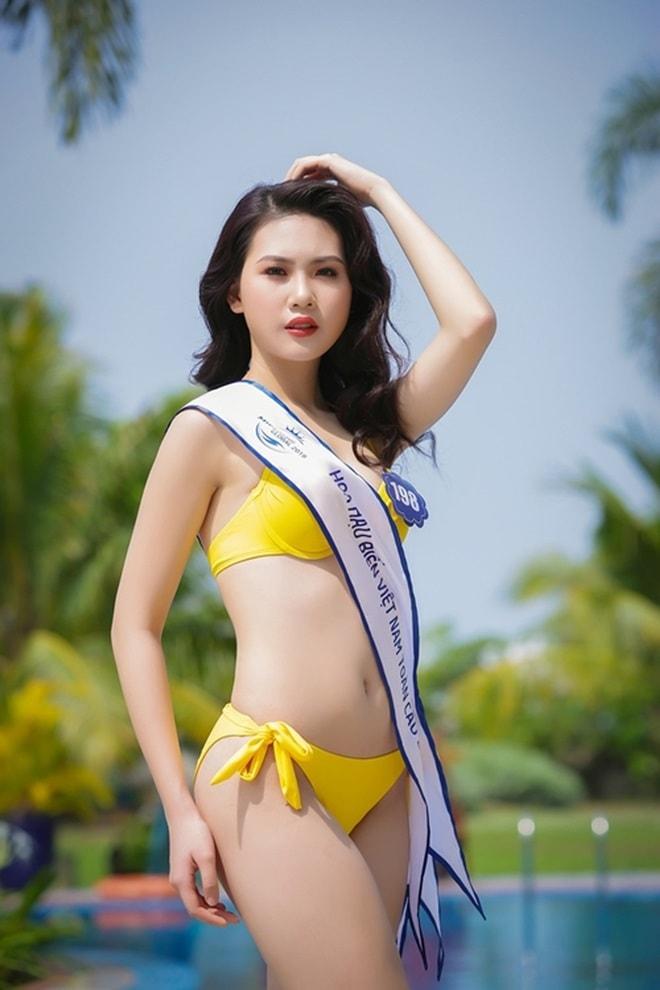 Tình cũ 3 năm của Lê Hiếu: Cô gái đẹp nổi bật ở Hoa hậu Biển Việt Nam toàn cầu - 9