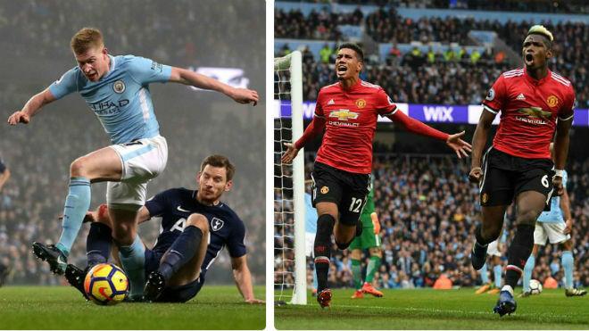 """Ngoại hạng Anh trước vòng 34: Man City rệu rã, MU âm thầm """"lật đổ"""" - 1"""