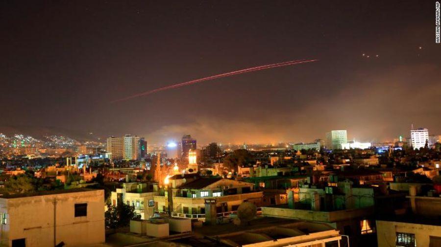 Mỹ, Anh, Pháp đồng loạt dội lửa tấn công Syria - 2