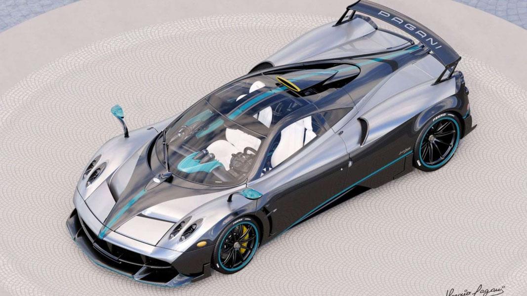 Ngắm vẻ đẹp của chiếc siêu xe Pagani Huayra Coupe cuối cùng - 2