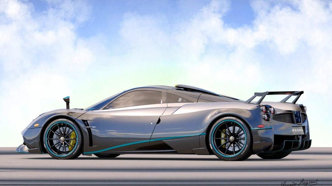 Ngắm vẻ đẹp của chiếc siêu xe Pagani Huayra Coupe cuối cùng - 3