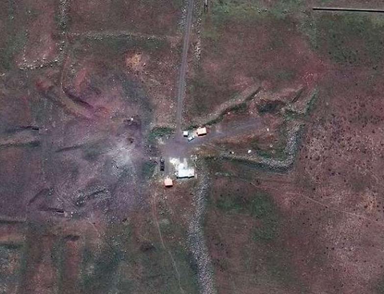 Hình ảnh tan hoang ở khu vực chứa vũ khí hóa học của Syria - 2