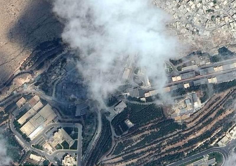Hình ảnh tan hoang ở khu vực chứa vũ khí hóa học của Syria - 3