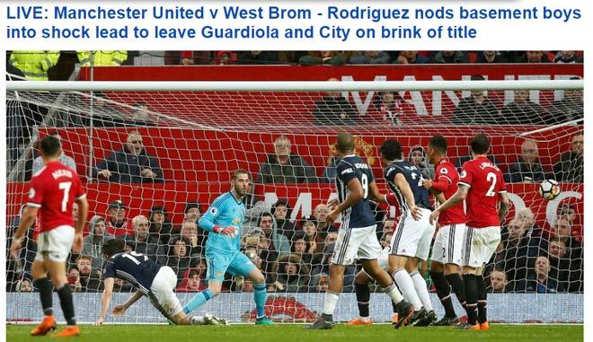 MU thua đội bét bảng, Man City vô địch: Báo Anh sốc, chê Mourinho thậm tệ - 1