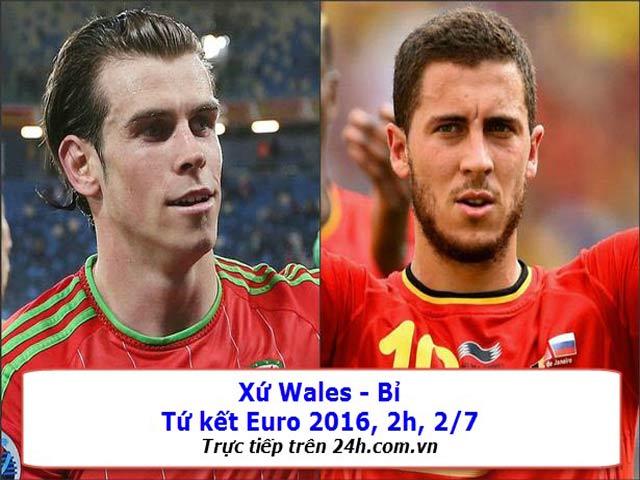 TRỰC TIẾP Xứ Wales - Bỉ: Chỉ cần một khoảnh khắc