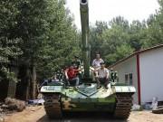 Phi thường - kỳ quặc - Nông dân TQ tự chế tạo xe tăng hoạt động như thật