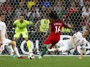 Bóng đá - SAO trẻ Bồ Đào Nha Sanches phá 2 kỷ lục, hay nhất trận