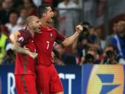 Bóng đá - Bồ Đào Nha-Ronaldo: Vô địch EURO với 7 trận hòa liên tiếp?
