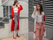 Thời trang - Không khó để mặc đẹp với đồ layer cho cô nàng công sở