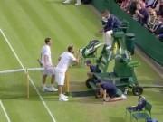 """Thể thao - Wimbledon: """"Siêu quậy"""" đập vợt, thóa mạ trọng tài"""