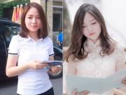 Bạn trẻ - Cuộc sống - Cô gái bất ngờ nổi tiếng trong ngày thi ĐH đầu tiên