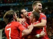 """Bóng đá - Xứ Wales chứng tỏ không phải là đội tuyển """"Xứ Bale"""""""